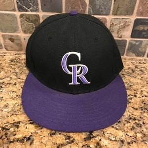 Colorado Rockies MLB New Era Fitted Baseball Hat